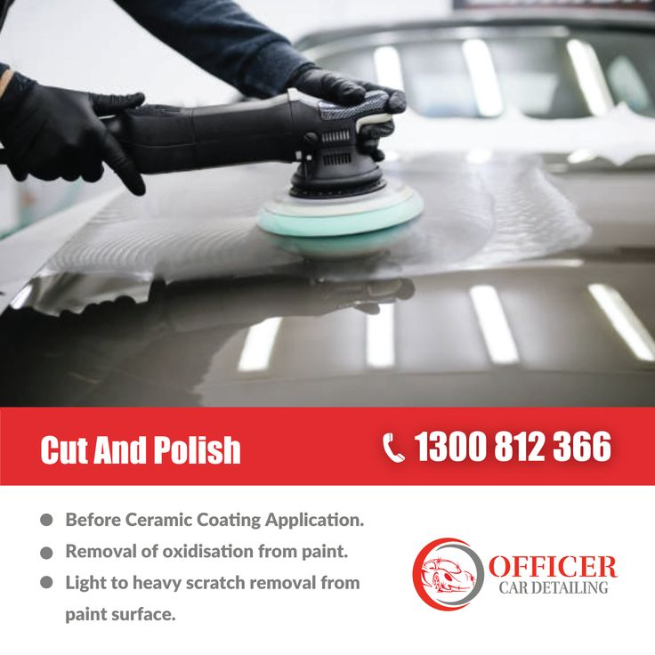 Our full car detail brings even the most tired cars back to life! From mini car detail to full makeover of your car, Officer Car Detailing have more than 7 years experience making cars look as good as they possibly can. #CarDetailing #CeramicCoating #PreCarSale #CutAndPolish