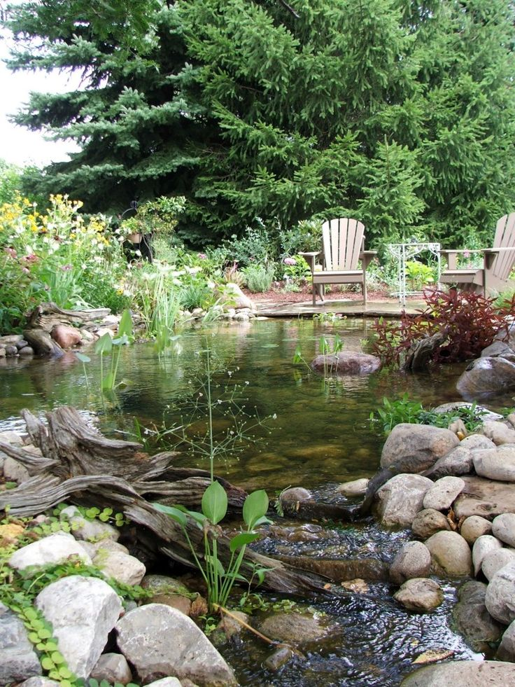 73 Pond Images Let You Dream Of A Beautiful Garden: 73 Best Creative Landscaping Images On Pinterest
