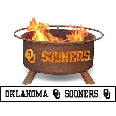 Patina Products University of Oklahoma Fire Pit