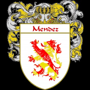 Mendez Coat of Arms   http://spanishcoatofarms.com/ has a wide variety of products with your Hispanic surname with your coat of arms/family crest, flags and national symbols from Mexico, Peurto Rico, Cuba and many more available upon request.