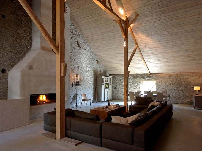 Sommerain 64 is een nieuw en heel gezellig vakantiehuis voor grote gezelschappen gelegen in het - Moderne keuken in het oude huis ...