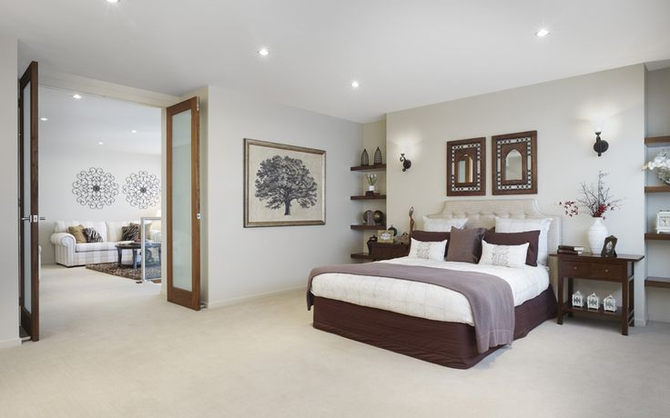 Master bedroom and retreat