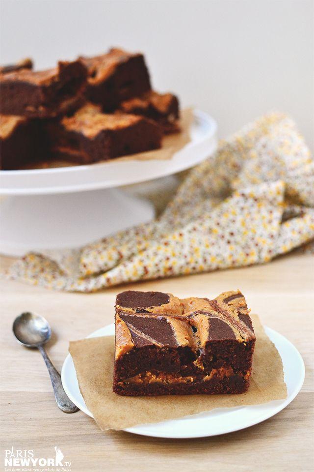Brownie chocolat et beurre de cacahuète - Paris-NewYork.tv © Aurélie Garreau