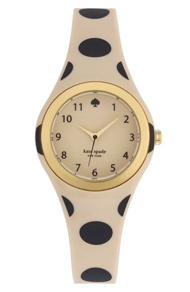 Free shipping and returns on kate spade new york 'rumsey' plastic strap watch, 30mm at Nordstrom.com. A curvy silhouette and smooth plastic defines a casual, wear-anywhere watch.
