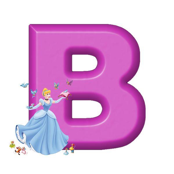 Buchstabe Letter B Cinderela