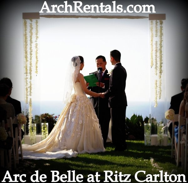 Wood Wedding Altar Canopy Rentals Los Angeles Orange: 1000+ Images About Arc De Belle Lucite, Acrylic Wedding