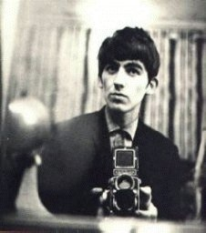 George was known as the man with the camera, always on the lookout for something interesting to snap - So one day he happened to look in the mirror with camera in hand and...