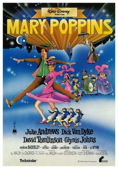 """Mary Poppins (1964) """"Mary Poppins"""" de Robert Stevenson - tt0058331"""