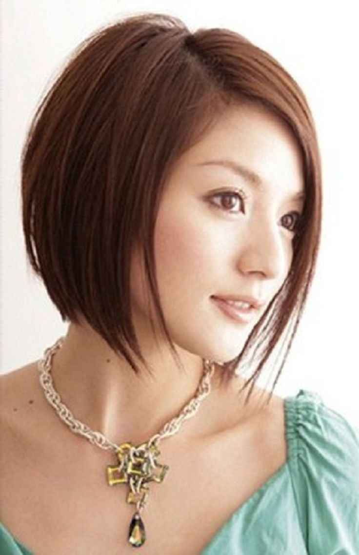 Short Hairstyles For Asian Women With Round Faces Ideas