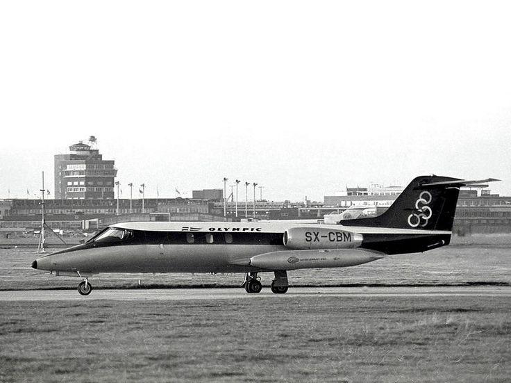 Olympic Aviation Gates Learjet 25C [SX-CBM]