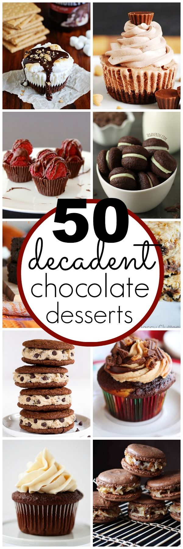 50 amazing Chocolate Dessert Recipes - classyclutter.net