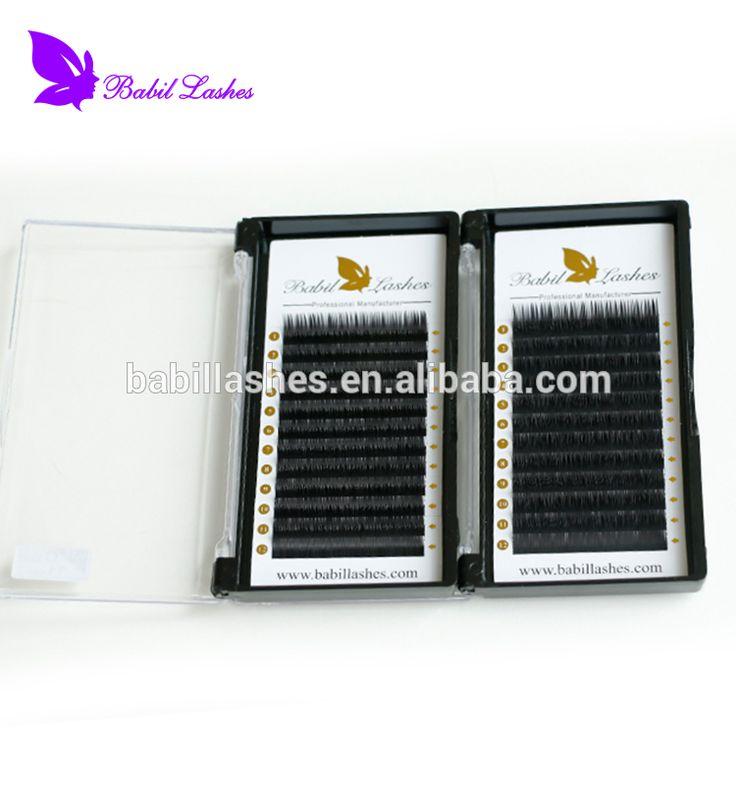 Top Quality Popular Prime Silk False Individual Korean Wholesale Eyelash Extension