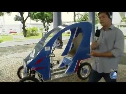 Alunos da Bahia desenvolvem carro ecológico movido a baterias que não po...