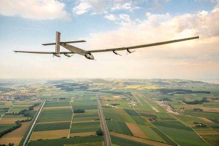 Solar Impulse 2 midway through virgin around-the-world flight