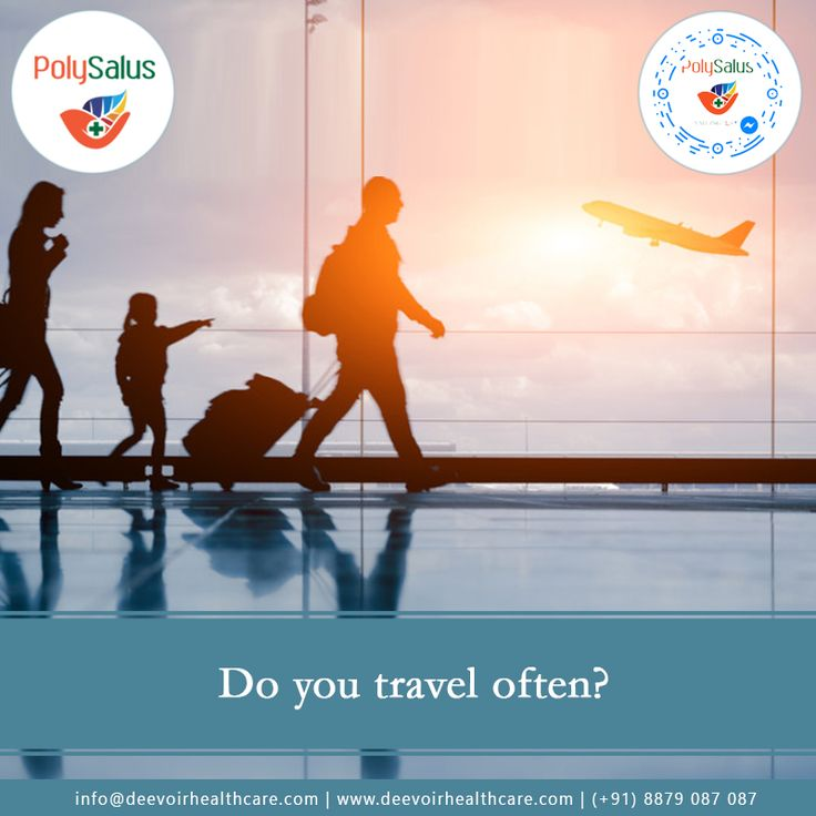 Don't #Sabotage your #Health because of #Travelling. Contact us http://deevoirhealthcare.com/