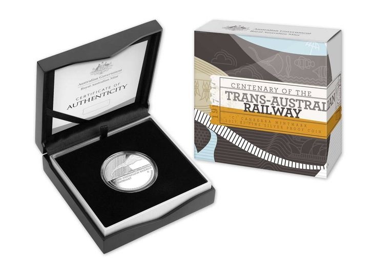 Trans Australian Railways Centenary Coins Ring in New Year