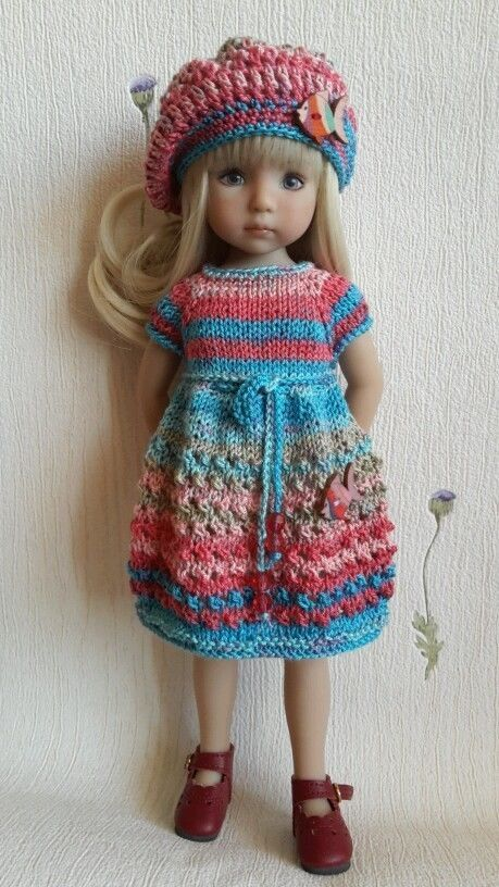 "Outfit for doll 13"" Dianna Effner Little Darling hand made:"