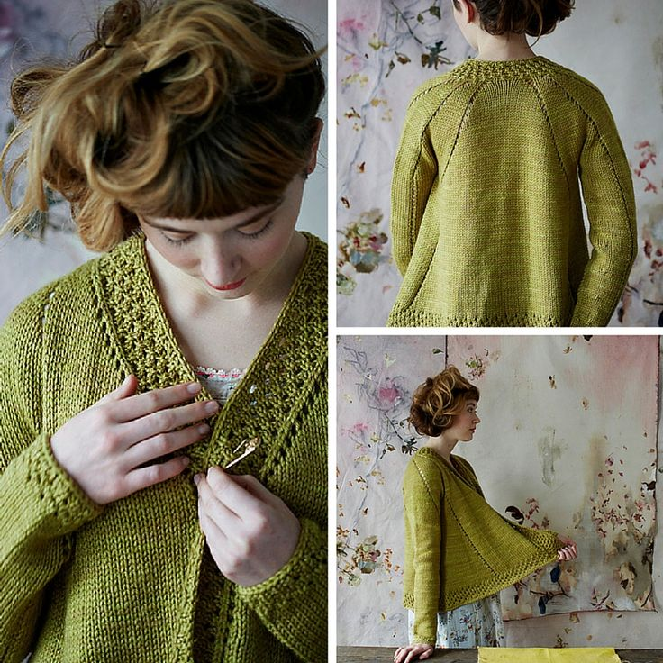 Lovely knitting pattern for cardigan Teazel by Bristol Ivy for Loop London