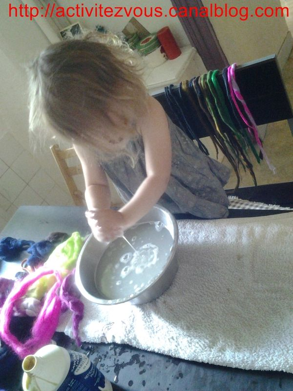 BRICOLAGE: Dread wool (laine) tuto et activit�s pour enfants
