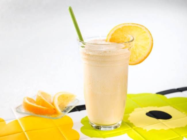 Кефирно-апельсиновый супер коктейль для сжигания жира