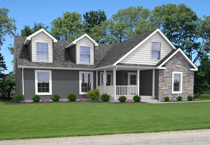 The Majestic Master Suit Hr161al Pennwest Ranch Modular Home Exteriors Pinterest Home