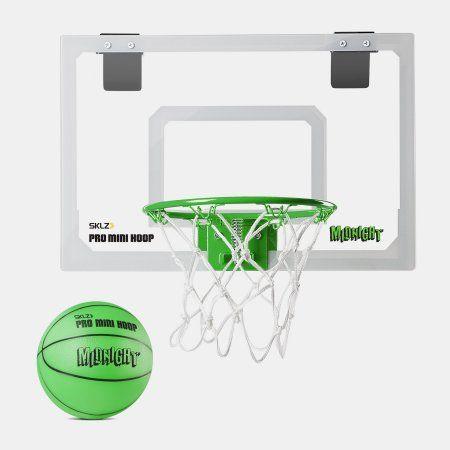 Sklz Pro Mini Hoop Midnight Walmart Com Mini Basketball Hoop Mini Basketballs Indoor Basketball Hoop