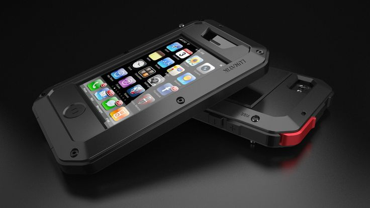 Lunatik Taktik iPhone Case - Black