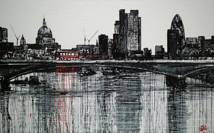 London Crossing by Paul Kenton Now Available to view at Westover Gallery  £3950 contact us now for more info 01202 297 682