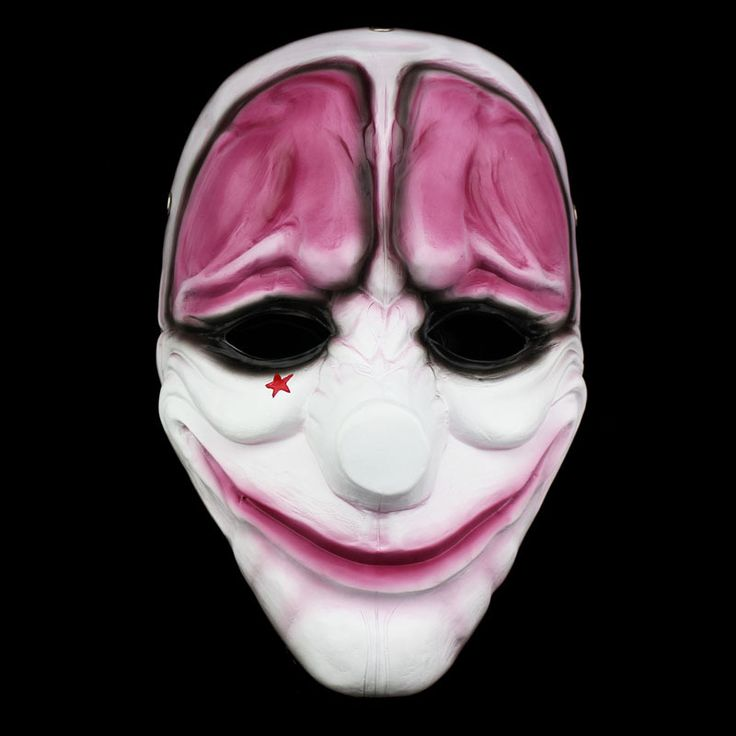 ==> [Free Shipping] Buy Best Resin Mask Payday 2 Movie Hoxton Mask Theme Resin Female Red Head Mask Halloween Clown Payday Masquerade Carnaval Costume Online with LOWEST Price | 32656026425