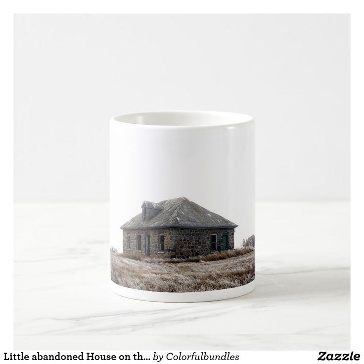 Little abandoned House on the Prairie Coffee Mug