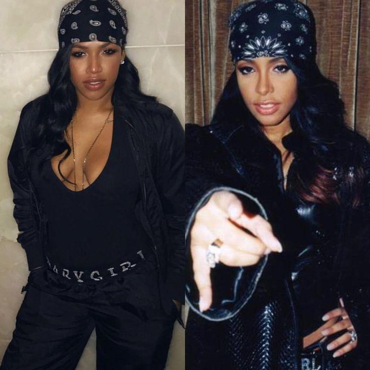 #Aaliyah Halloween costume @heymesh