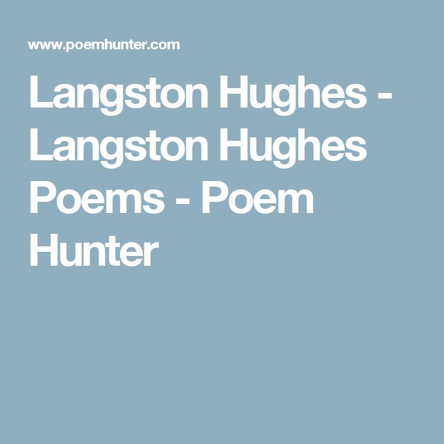 a comparison of the poetry of langston hughes and robert frost Poetry analysis - arguing for authenticity: a comparison and contrast of two american modern poets, robert frost and langston hughes.