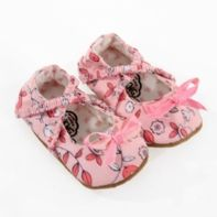 Isn't that just tooo cute!!! Myang shoes - Made in South Africa #baby #balletshoes