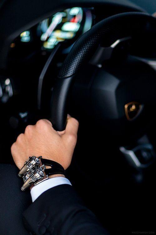Lamborghini Aventador & MB&F HM4.