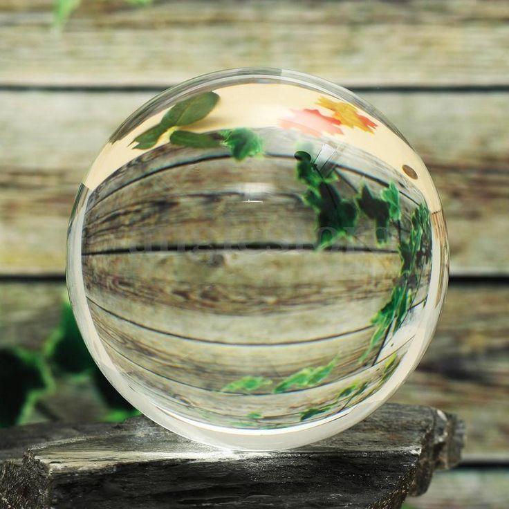 Asian Rare Natural Quartz Clear Magic Healing Crystal Ball Sphere 40mm + Stand