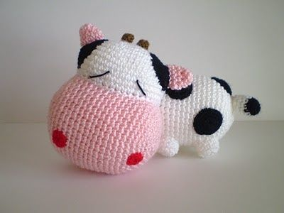 Amigurumi Vaca : Best amigurumi vacas y ovejas images crochet
