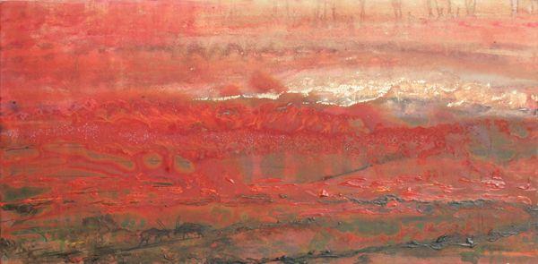 """Gemsbok Fire 03"" by Melanie Meyer from her Emergence Art Gallery in Cape Town"