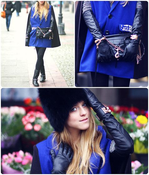 ELECTRIC BLUE, ELECTRIC CITY (by Jessica Mercedes Kirschner) http://lookbook.nu/look/4269667-ELECTRIC-BLUE-ELECTRIC-CITY