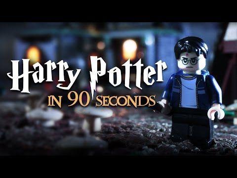 Todo Harry Potter contado con Lego en 90 segundos
