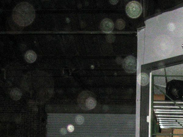 Gribble House Paranormal Experience -- Photographic Evidence look at the faces in these orbs. #Ghost #orbs #haunted