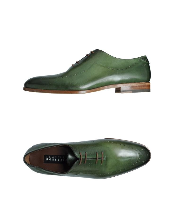 Fratelli rossetti Men - Footwear - Laced shoes Fratelli rossetti on YOOX