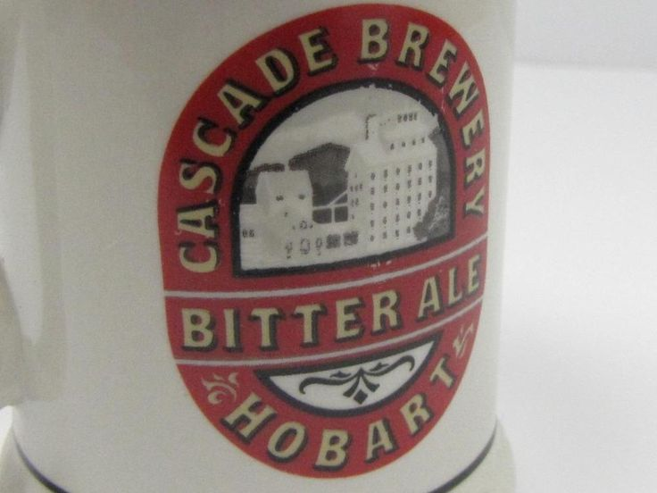 COLLECTIBLE: Australian Breweries CASCADE BREWERY BITTER ALE TANKARD