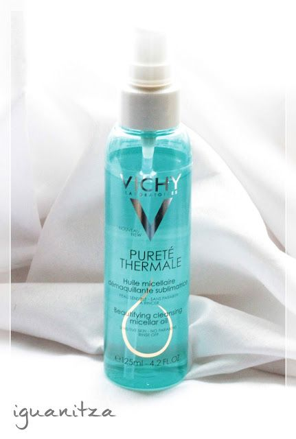 be a masterpiece: [Review] Ulei micelar demachiant Vichy