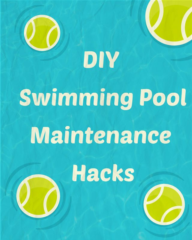 Here's a list of pool maintenance hacks that you can employ to keep your swimming pool water clean, clear (and warm).