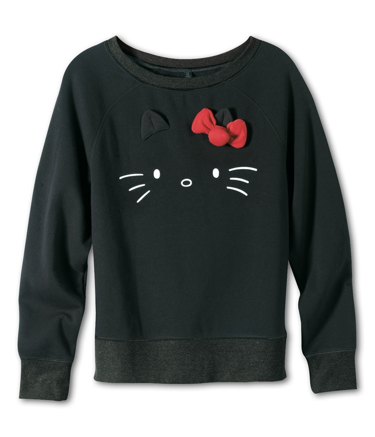 VANS x Hello Kitty Juniors Pullover  LOVELOVELOVE I WOULD WEAR THIS 24/7.