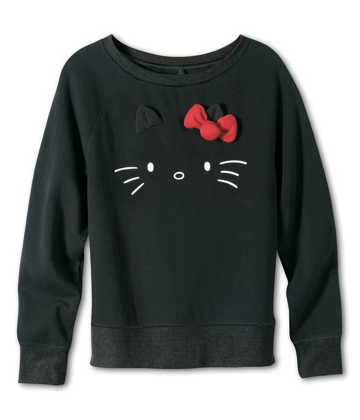 VANS x Hello Kitty Juniors Pullover  LOVELOVELOVE I WOULD WEAR THIS 24/7.