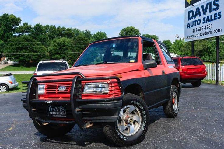Used 1995 GEO Tracker For Sale Tracker, Monster trucks, Geo