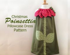 Sonnige Blumen Kissenbezug Dress Pattern von RubyJeansCloset