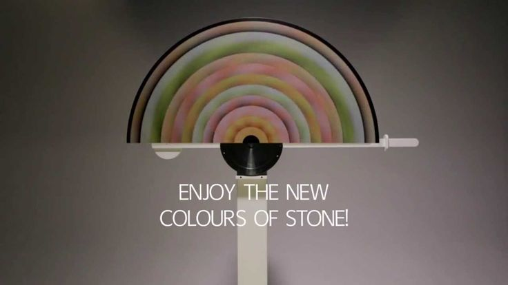 Opus Motus   The moving colours of stone   Lithos Design. It was 2013 when, with Raffaello Galiotto, we made a step forward into the exploration of the stone world. Determining to create a stronger and more interactive experience between people and this natural material, we started from the colours of some prestigious types of marble and we ended up creating the colourful and geometric Opus Motus circles. Ready to push the lever again?