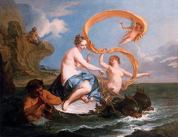The triumph of Galatea, Noël Nicolas Coypel